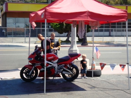 9-11 event bike wash