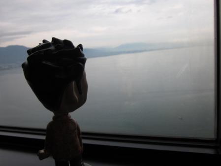 ホテルからのびわ湖