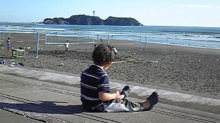 09・10・27・鵠沼海岸・1
