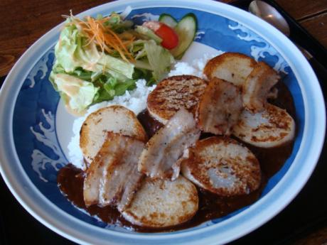 ヌプリベーコン長芋カレー