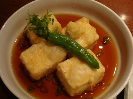 きくよ食堂揚げ出し豆腐