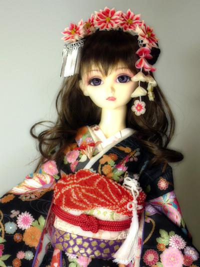 SD姫衣装手鞠