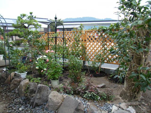 昨年9月頃の庭の姿