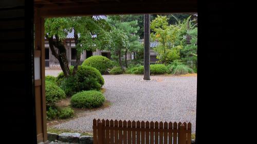 永光寺中庭
