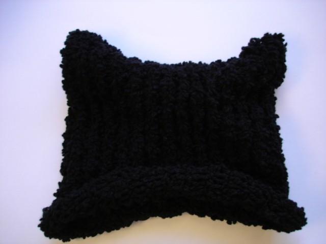 猫耳ニット帽