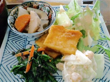 マクロビオティックミニ定食