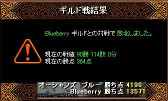 8月19日「Blueberry」結果