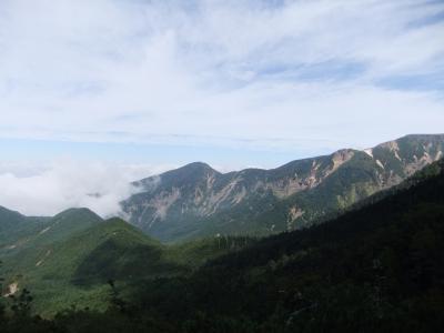 行者小屋からの景色1
