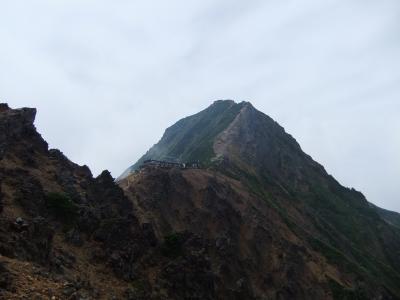 赤岳と赤岳展望荘