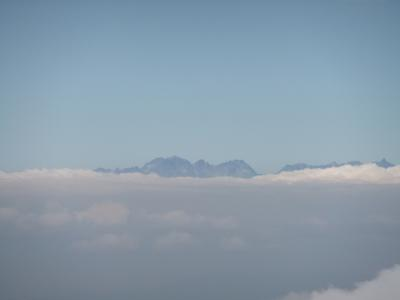 赤岳からの展望1