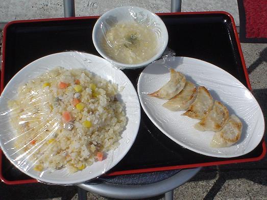 幕張駅前通りにある中華料理屋の竹園の定食はごはんおかわり自由005