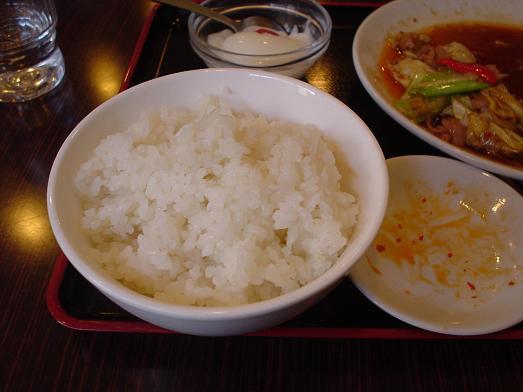 幕張の中華料理屋竹園でスタミナ焼肉定食020