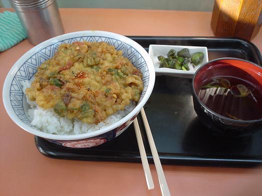 常盤軒の人気メニュー品川丼006