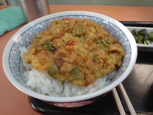 常盤軒の人気メニュー品川丼007