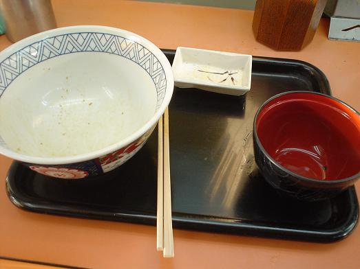 常盤軒の人気メニュー品川丼011