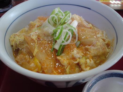 山田うどんのキムチクッパ丼が期間限定で激安240円046