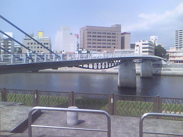 あゆみ橋_南から北