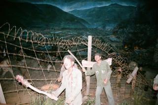 韓国 巨済島の北側捕虜収容所記念館