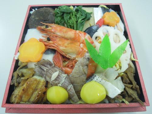 バラ寿司弁当 001