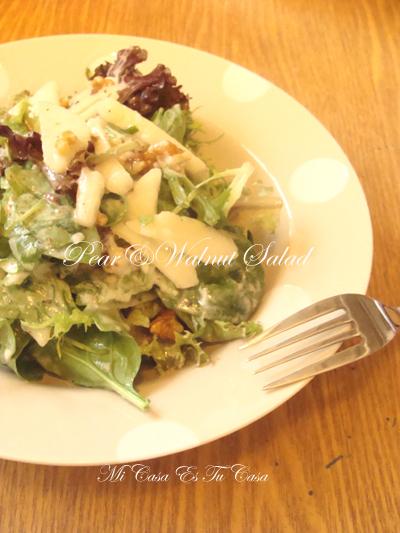PearWalnut Salad