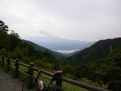富士山はイマイチでした