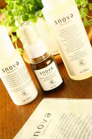 プラセンタ化粧品スノーヴァの即効のリフトアップ力