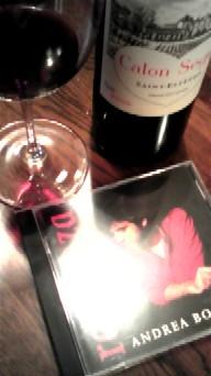 10月31日 アンドレア&ワイン
