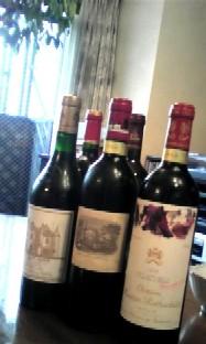 10月31日 高いワイン