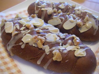 チョコナッツパン