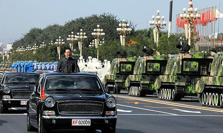 建国60周年パレード