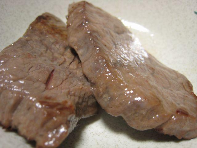 窪川牛ももステーキ