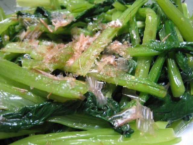 小松菜からし和え