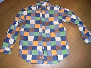 パッチワークシャツ3