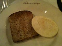 スープ付け合わせのパン