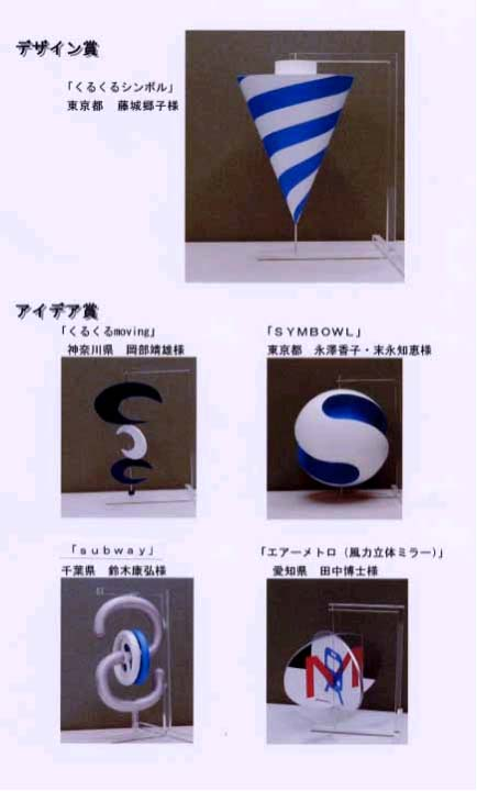 「くるくるシンボル」に応募された作品