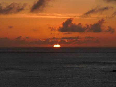 阿嘉島 夕日