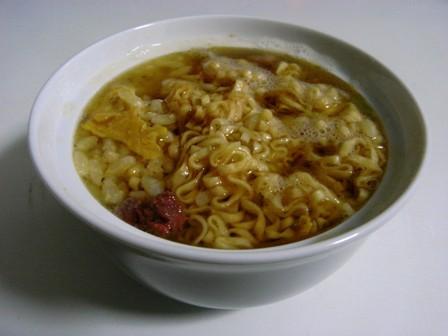 チキラーチャーシュウ炒飯麺