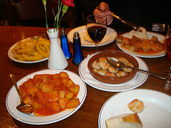 at spanish restaurant 2