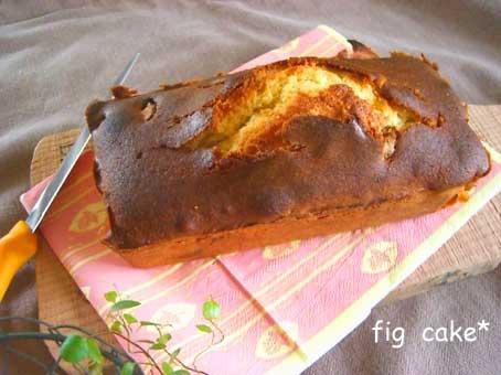 いちぢくのケーキ