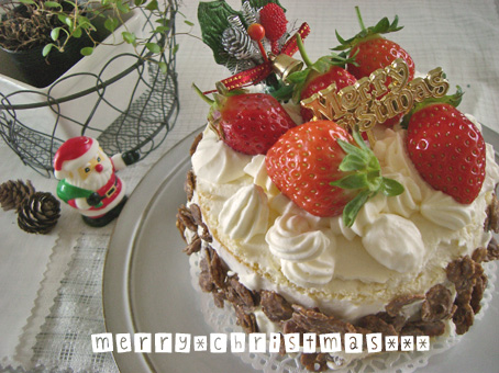 2007クリスマスケーキ
