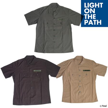 無地 トップス シャツ 半袖【メンズ LIGHT ON THE PATH(ライトオンザパス)◆】