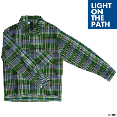 シャツ ジャケット ショート丈 ジージャンタイプ トップス 長袖【メンズ LIGHT ON THE PATH(ライトオンザパス)◆】