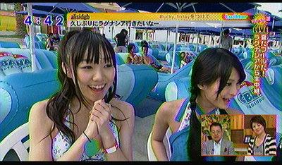 須田ちゃんとおぎちゃん。