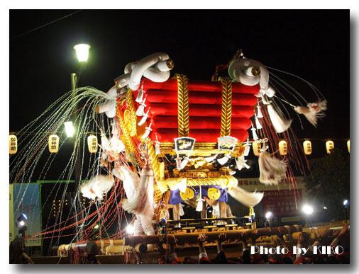 秋祭り布団太鼓神輿