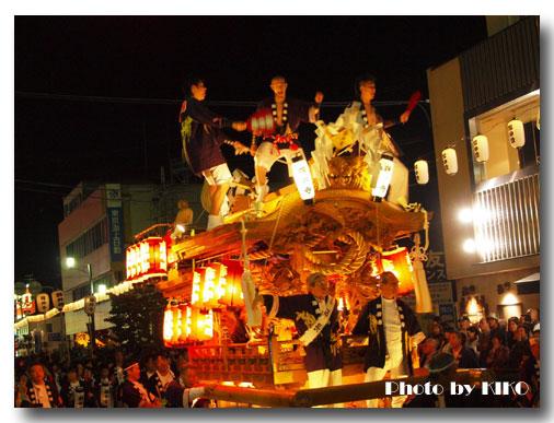 藤井寺市の秋祭り