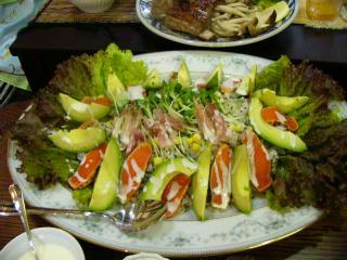 サラダのお寿司