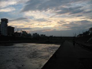 夕日2007・9・15