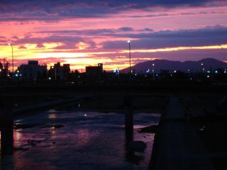 夕日2007・9・17
