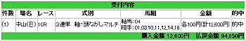 2007.12.23中山10レース万馬券