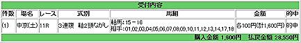 2008.03.01中京11R複万馬券